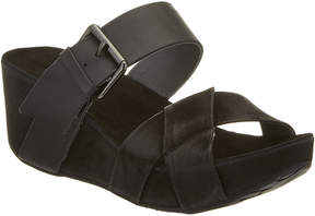 Chocolat Blu Madge Suede Wedge Sandal