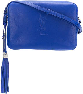 Saint Laurent monogram shoulder bag - BLUE - STYLE