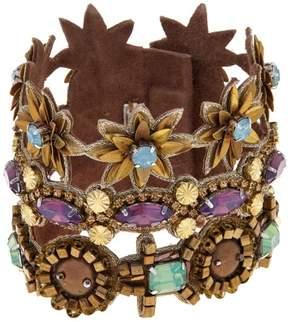 Deepa Gurnani deepa by Richelle 3-Row Multicolor Bracelet