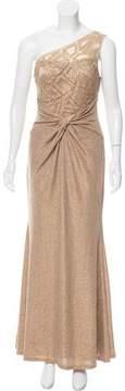 David Meister Embellished Evening Dress