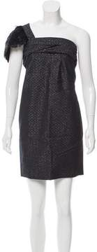 By Malene Birger Wool-Blend Feather-Trimmed Dress w/ Tags