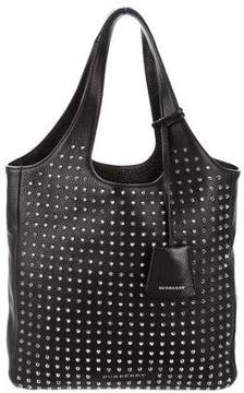 Burberry Studded Leather Bag