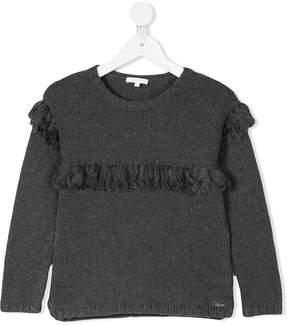 Chloé Kids tassel embellished jumper