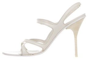 Narciso Rodriguez Leather Multistrap Sandals