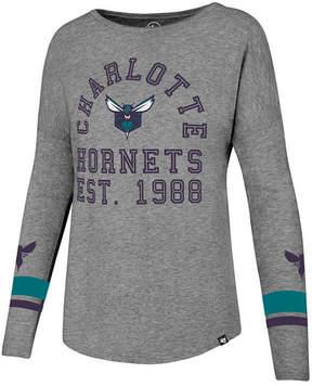 '47 Women's Charlotte Hornets Encore Long Sleeve T-Shirt