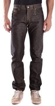 CNC Costume National Men's Black Cotton Jeans.