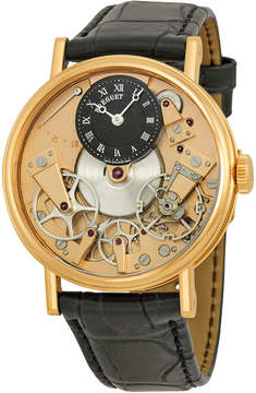 Breguet Tradition Automatic Skeleton Dial 18 kt Rose Gold Men's Watch