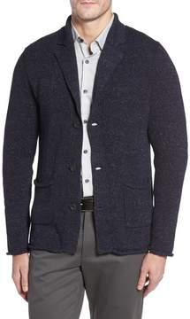 Robert Barakett Men's Seville Notch Collar Cardigan