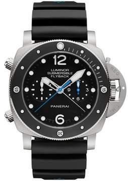 Panerai Luminor Submersible Titanium / Rubber Automatic 47mm Mens Watch