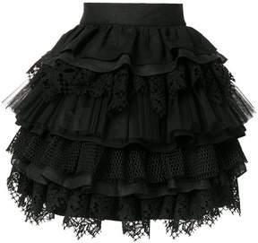 Fausto Puglisi layered full skirt