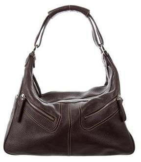 Tod's Leather Miky Hobo