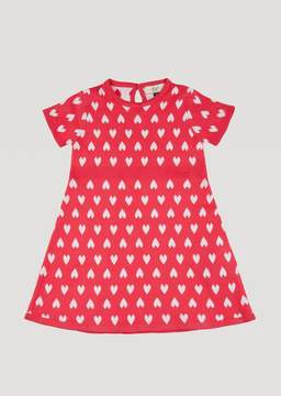 Armani Junior Knit Dress With Hearts