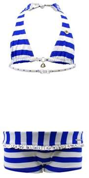 Bananamoon Banana Moon 2-piece Blue And White Girls Swimsuit Hills Simba.