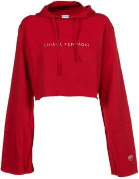 Chiara Ferragni Cropped Hoodie