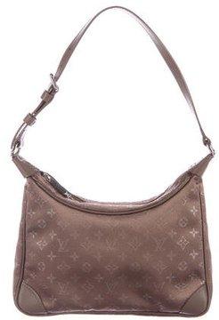 Louis Vuitton Satin Mini Boulogne Bag - BROWN - STYLE
