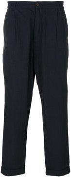 Universal Works pleated trousers