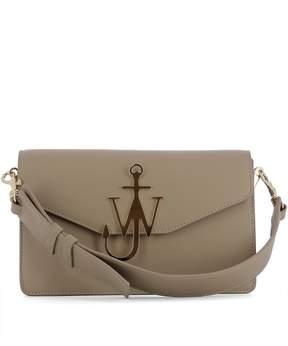 J.W.Anderson Brown Leather Shoulder Bag