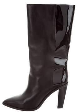 IRO Leather Mid-Calf Boots