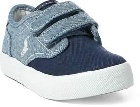 Ralph Lauren Luwes Chambray EZ Sneaker