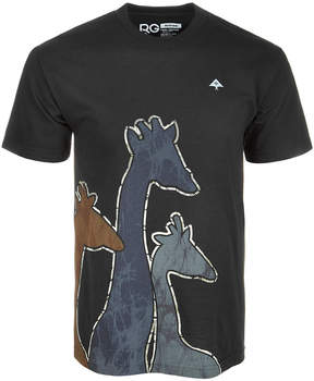 Lrg Men's Giraffe Riser Graphic T-Shirt