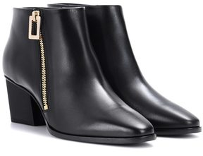 Roger Vivier Skyscraper leather ankle boots