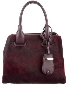 Tod's Ponyhair Mini Cape Bag