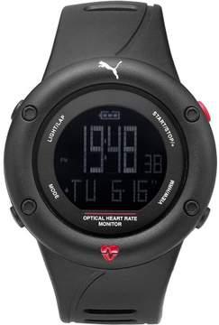 Puma Optical Cardiac Black PU911291001 Polyurethane Digital Unisex Watch