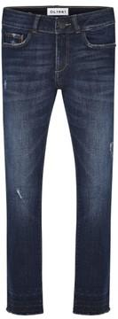 DL1961 Toddler Girl's Chloe Distressed Skinny Jeans