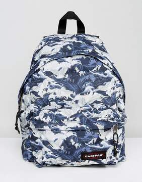 Eastpak Padded Pak R Backpack in Crane Print