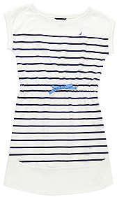 Nautica Girls' Striped Dress (8-16)