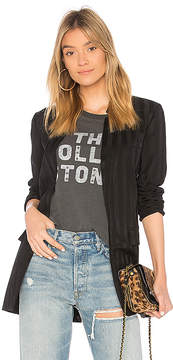 Bobi BLACK Shadow Stripe Blazer