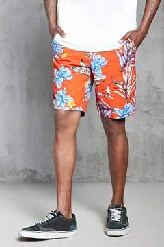 21men 21 MEN Tropical Print Chino Shorts