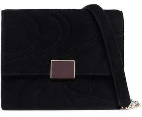 Emilio Pucci Quilted Suede Shoulder Bag
