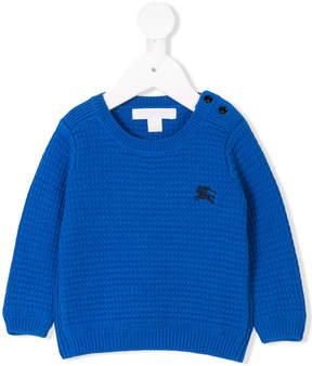 Burberry long sleeve logo sweater