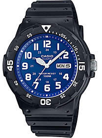 Casio Men's Blue Dial Analog Watch