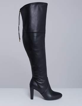Lane Bryant Over-the-Knee Heeled Boot