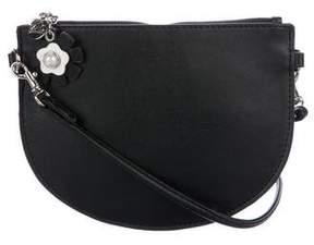 Zac Posen Mini Leather Crossbody Bag