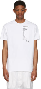 Hood by Air White Homepage T-Shirt