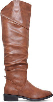 Miss KG Willa ruched knee-high boots