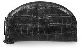 Eric Javits | Leather Croissant | Black