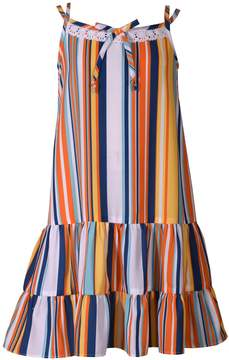 Bonnie Jean Girls 7-16 Striped Drop Waist Sun Dress