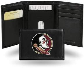 Rico NCAA Embroidered Leather Trifold Wallet - Florida State