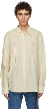 Off-White Chin Mens Cut-Out Shirt