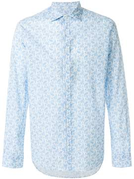 Etro paisley print slim fit shirt