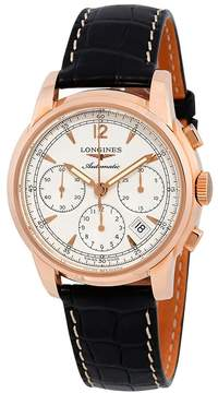 Longines Saint-Imier Automatic Chronograph Rose Gold Men's Watch