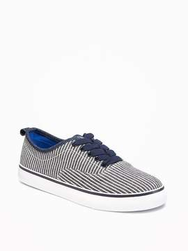 Old Navy Striped Chambray Sneakers for Boys