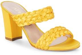 Aperlaï Women's Braided Open-Toe Sandals