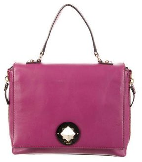 Kate Spade Leather Satchel - PINK - STYLE