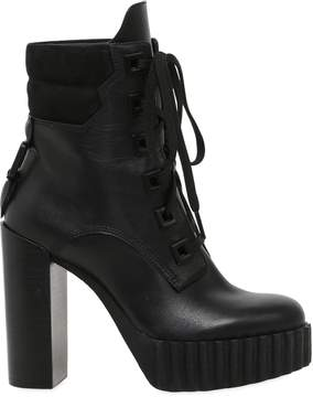KENDALL + KYLIE 100mm Coty Suede & Leather Ankle Boots