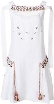 Ermanno Scervino embroidered dress